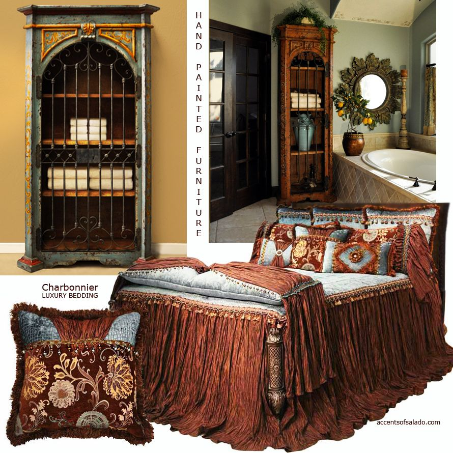 Tuscan Style Bedrooms Can Be Rustic, Sophisticated And Luxurious. Create Romantic Master Bedroom