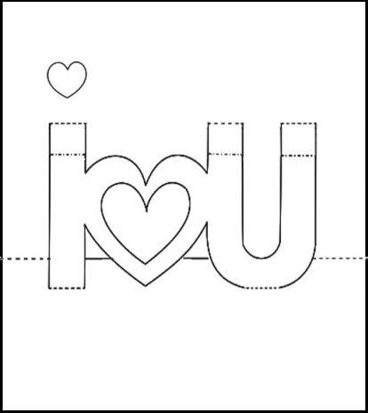 Pop Up Valentine Card Template 1 Pop Up Valentine Card Pop Up Card Templates Pop Up Valentine Cards Valentine Card Template
