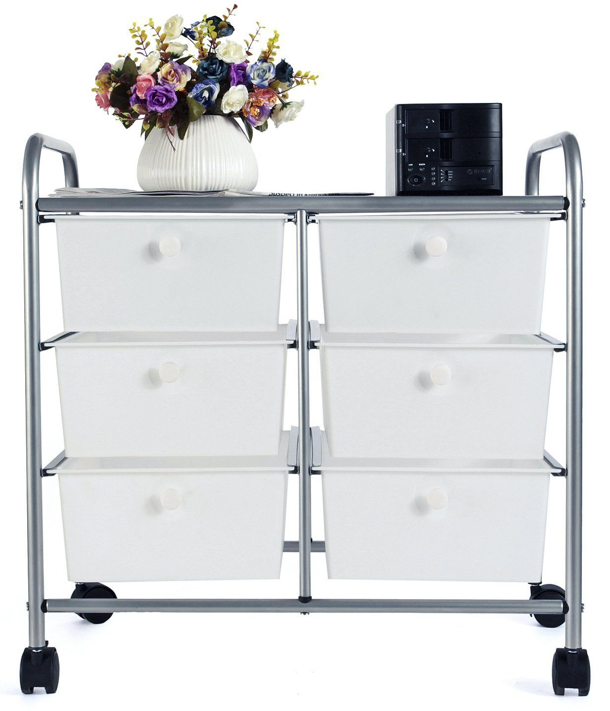 homz product drawers carts drawer storage medium with cart