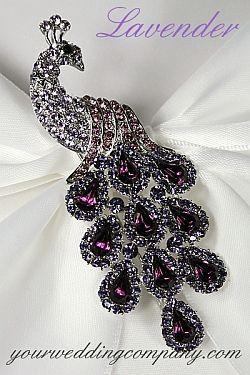 027e6376edf Swarovski Crystal Peacock Brooch - Lavender | stuff to buy ...