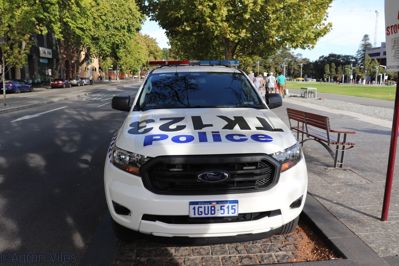 Western Australia Police In 2020 Ford Ranger Western Australia Police Cars