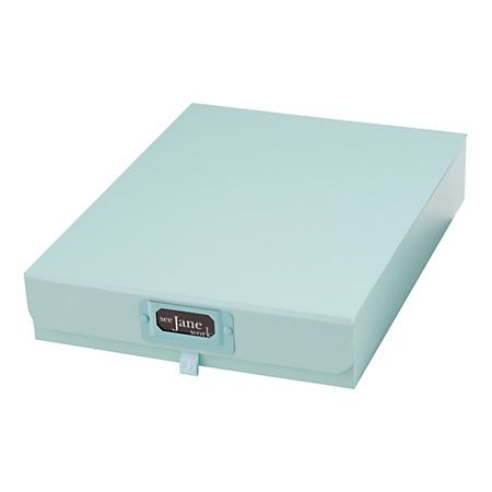 "Decorative Document Storage Boxes Best See Jane Work® Decorative Storage Document Box 2 14""h X 12""w X Decorating Design"
