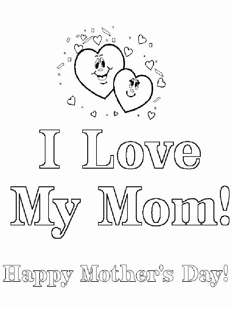 Happy Birthday Mom Coloring Page Best Of Happy Birthday