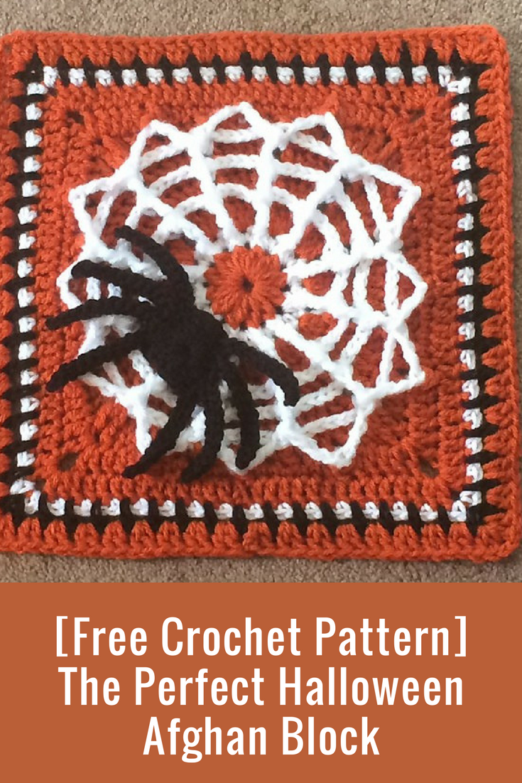 Free Crochet Pattern] The Perfect Halloween Afghan Block | crochet ...