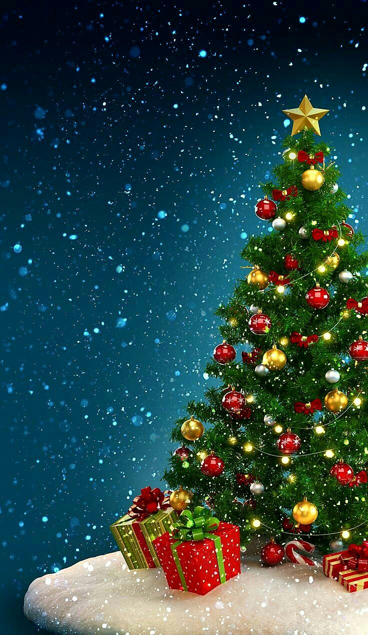 Pin By Karie Simon On Christmas Merry Christmas Wallpaper Christmas Tree Wallpaper Christmas Wallpaper Android