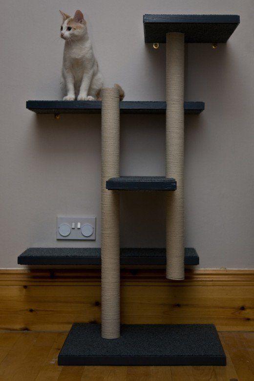 6 free diy cat tree plans diy tag diytag pinterest cat tree plans diy cat tree and cat tree