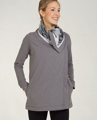 i own this in light grey and wear it all the time it is