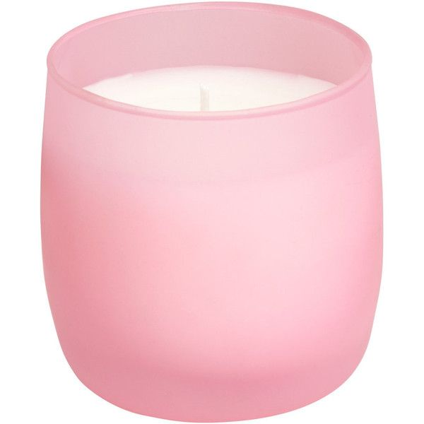H&M Scented candle (£7.99) ❤ liked on Polyvore featuring home, home decor, candles & candleholders, candles, marshmallow mania, fragrance candles, round candles and scented candles