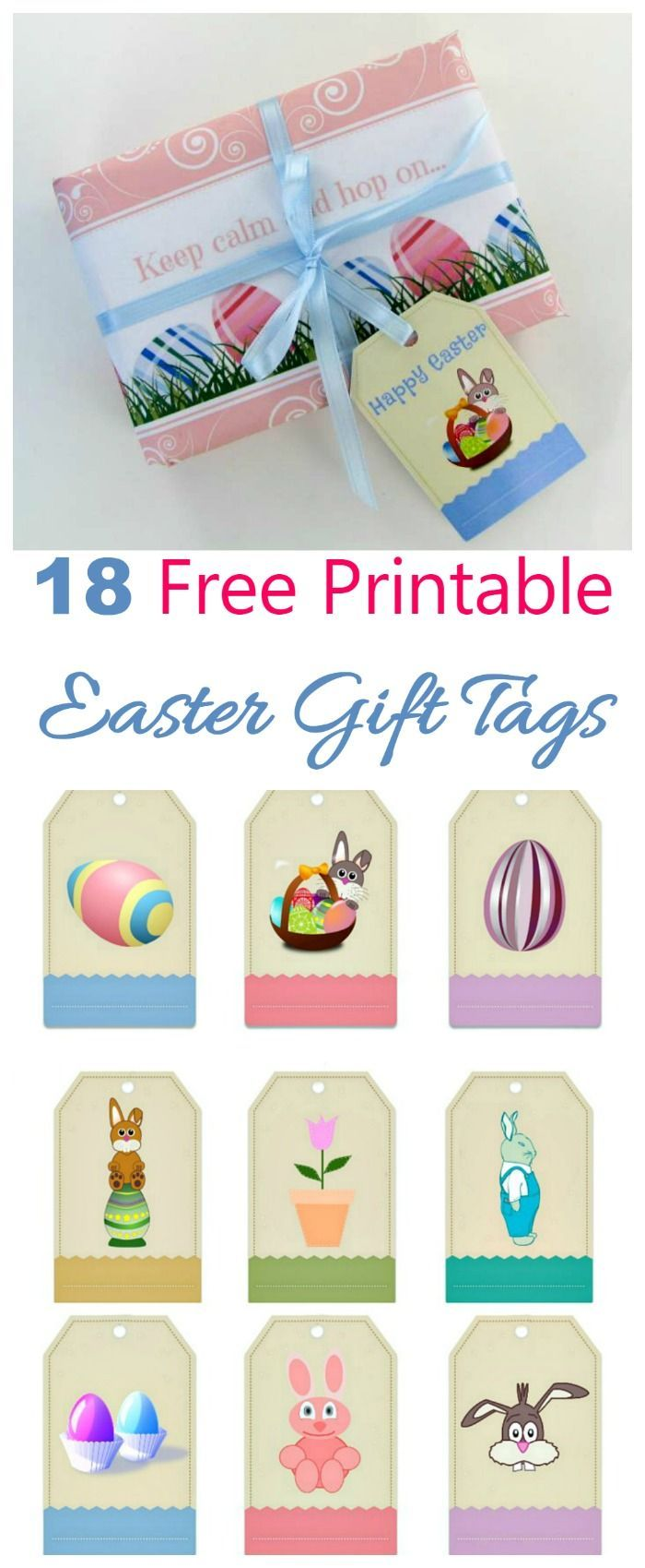 These free printable easter gift tag labels will add a personalized these free printable easter gift tag labels will add a personalized touch to all your easter negle Image collections