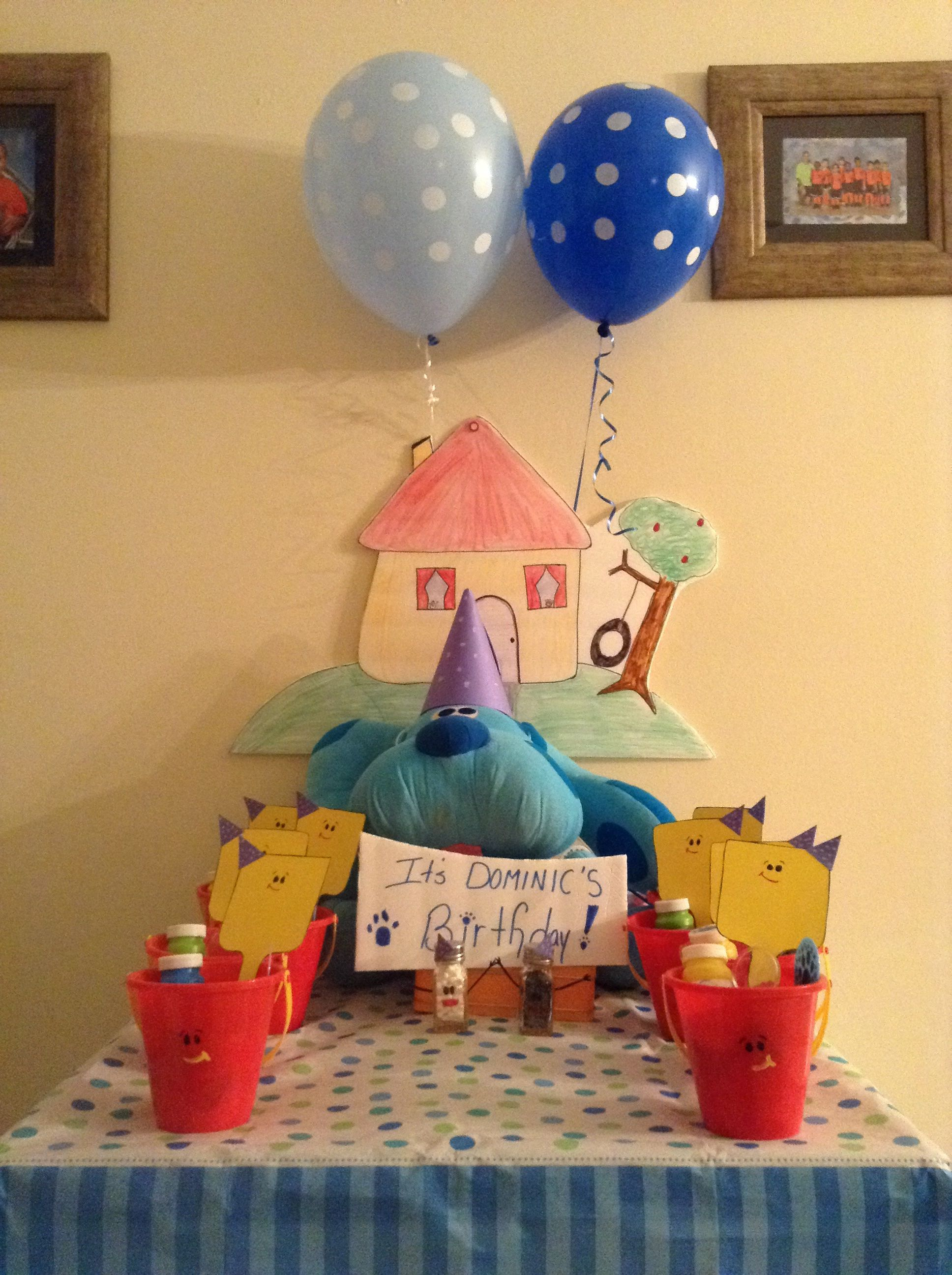 Blue's Clues birthday party
