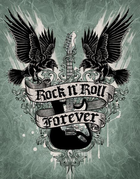 Rock n Roll Forever - Rock n Roll Will Never Die  a87027170ff