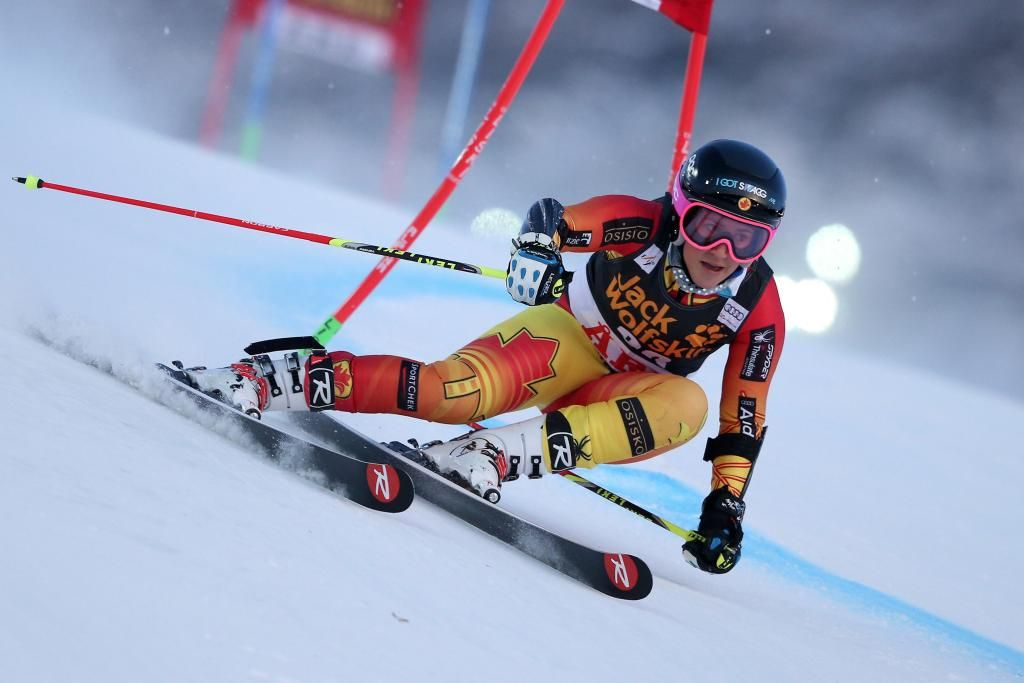 After her 2nd GS run, @PrefontaineMP is currently 10th, +1.54 back from 1st in Are, Sweden.