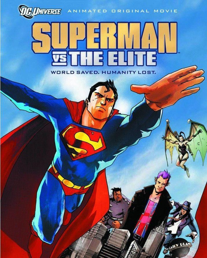 Superman Vs The Elite Animacao Novo Superman Superman