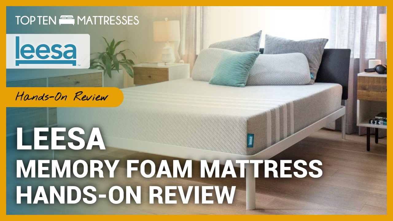 See What We Thought Of The Leesa Memory Foam Mattress In Our Hands On Mattress Review With Images Mattresses Reviews Memory Foam Mattress Reviews Memory Foam Mattress