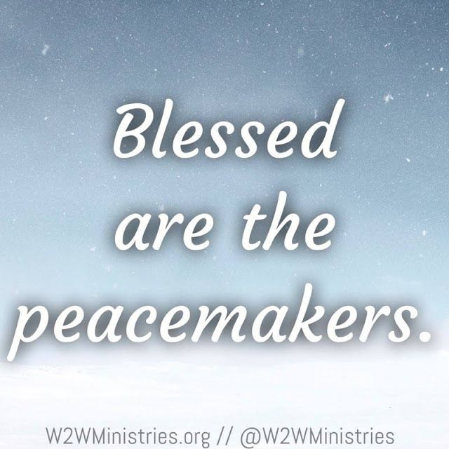 Peacemaker Quotes Blessed Are The Peacemakers Quotations  Pinterest  Quotation