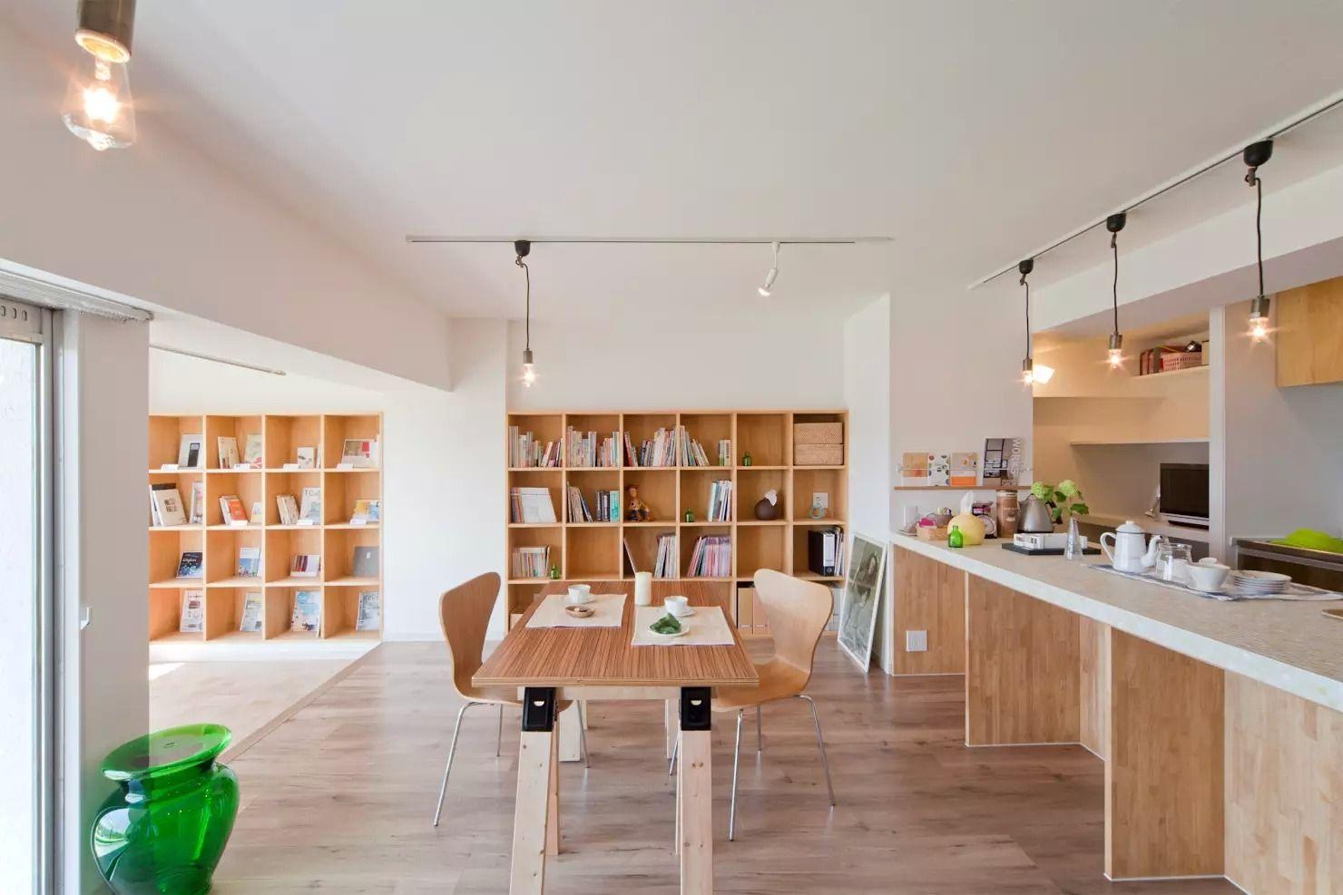 Book Cafe House Ruangan Ruang Baca