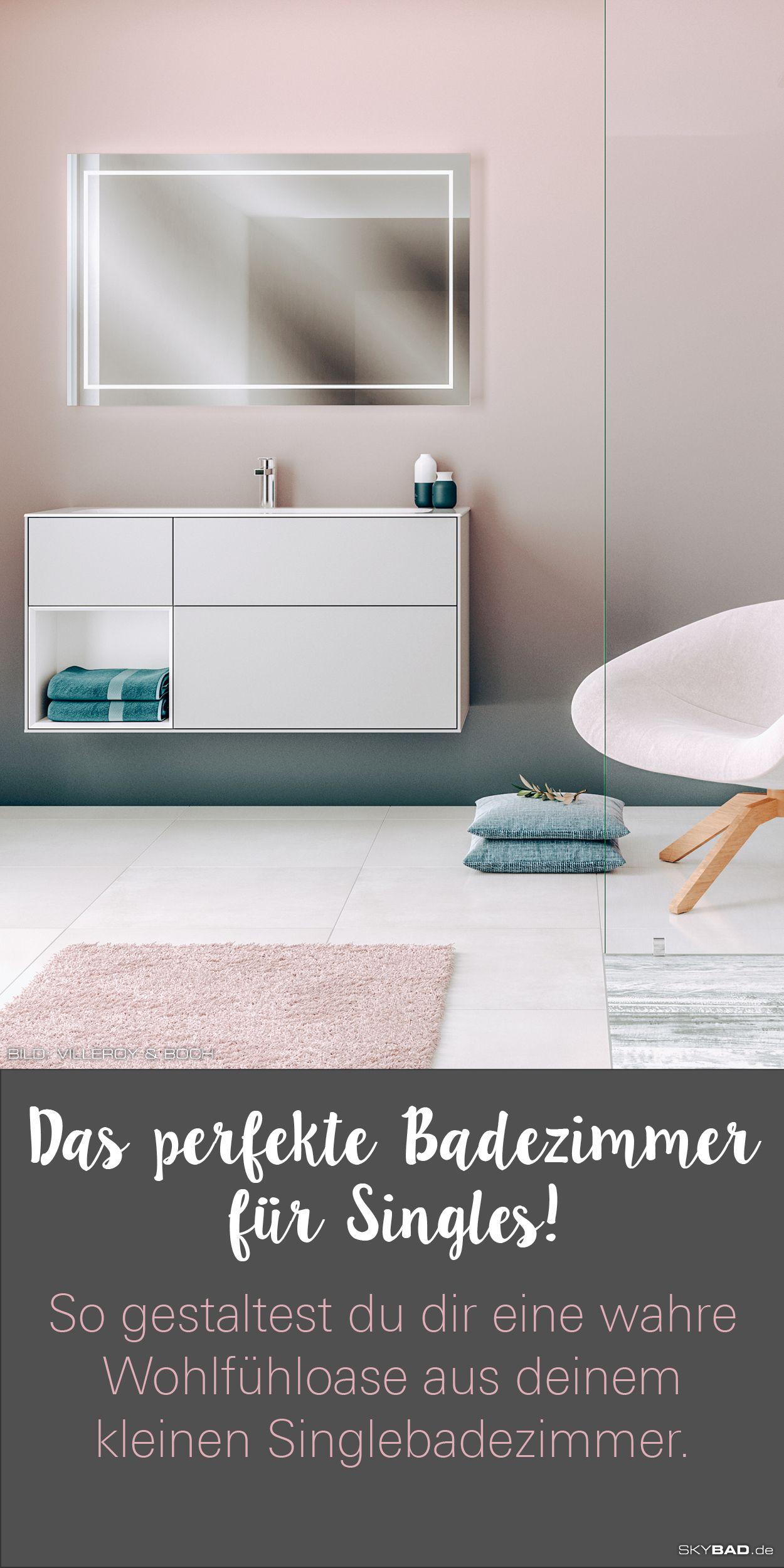 Das Perfekte Badezimmer Fur Singles How To Wohlfuhloase Aus Deinem Kleinen Singlebadezimmer In 2020 Kleines Bad Einrichten Bad Einrichten Alleine Wohnen