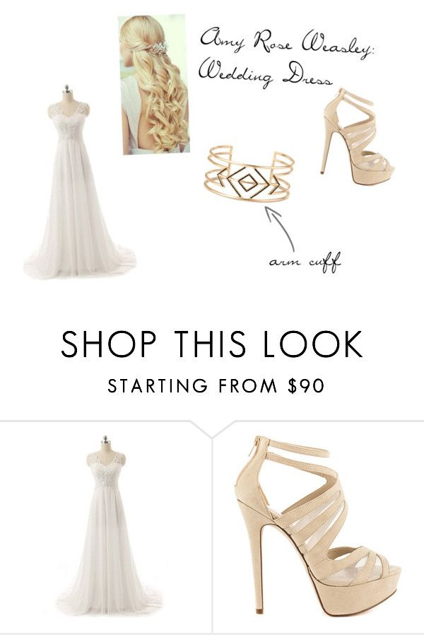 Amy Rose Weasley Wedding Dress By Juliemariee2 Liked On Polyvore Featuring ALDO
