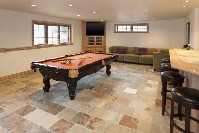 Best to worst grading 13 basement flooring ideas for Basement flooring options