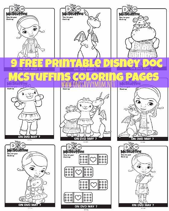 9 Free Disney Doc Mcstuffins Printable Coloring Pages Doc Mcstuffins Coloring Pages Doc Mcstuffins Doc Mcstuffins Birthday Party