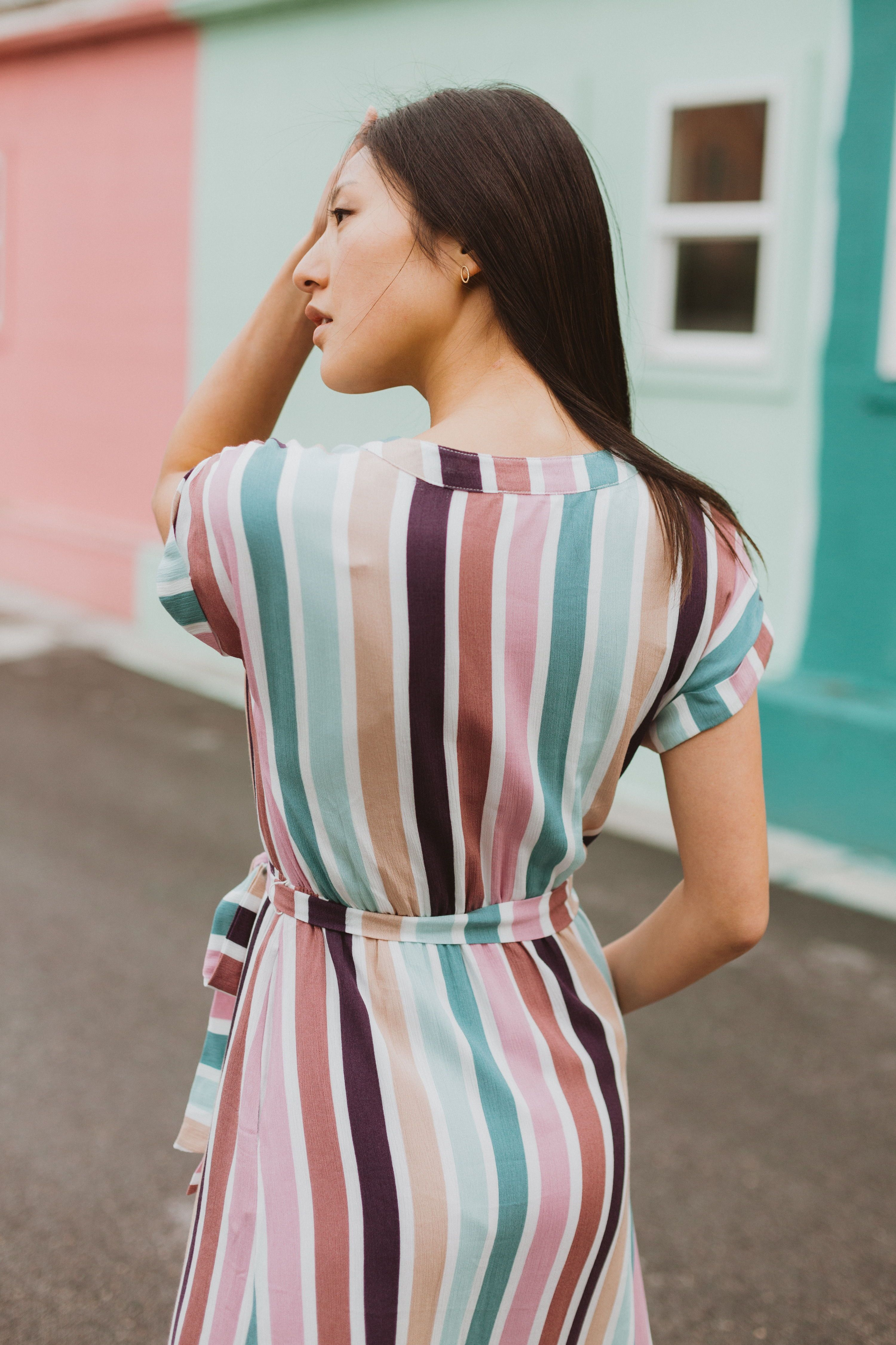 The Cha Cha Striped Maxi Dress Is As If All Your Favorite Things Came Together As A Dress It Is Nursing Friendly With Maxi Styles Striped Maxi Dresses Dresses [ 4500 x 3000 Pixel ]