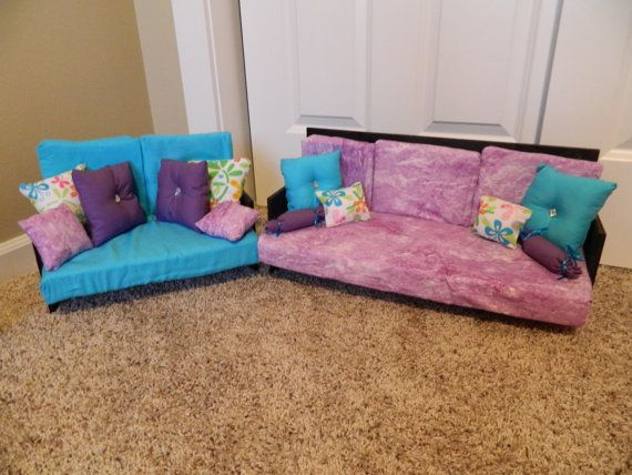 american girl couches this is my etsy store made and customized in