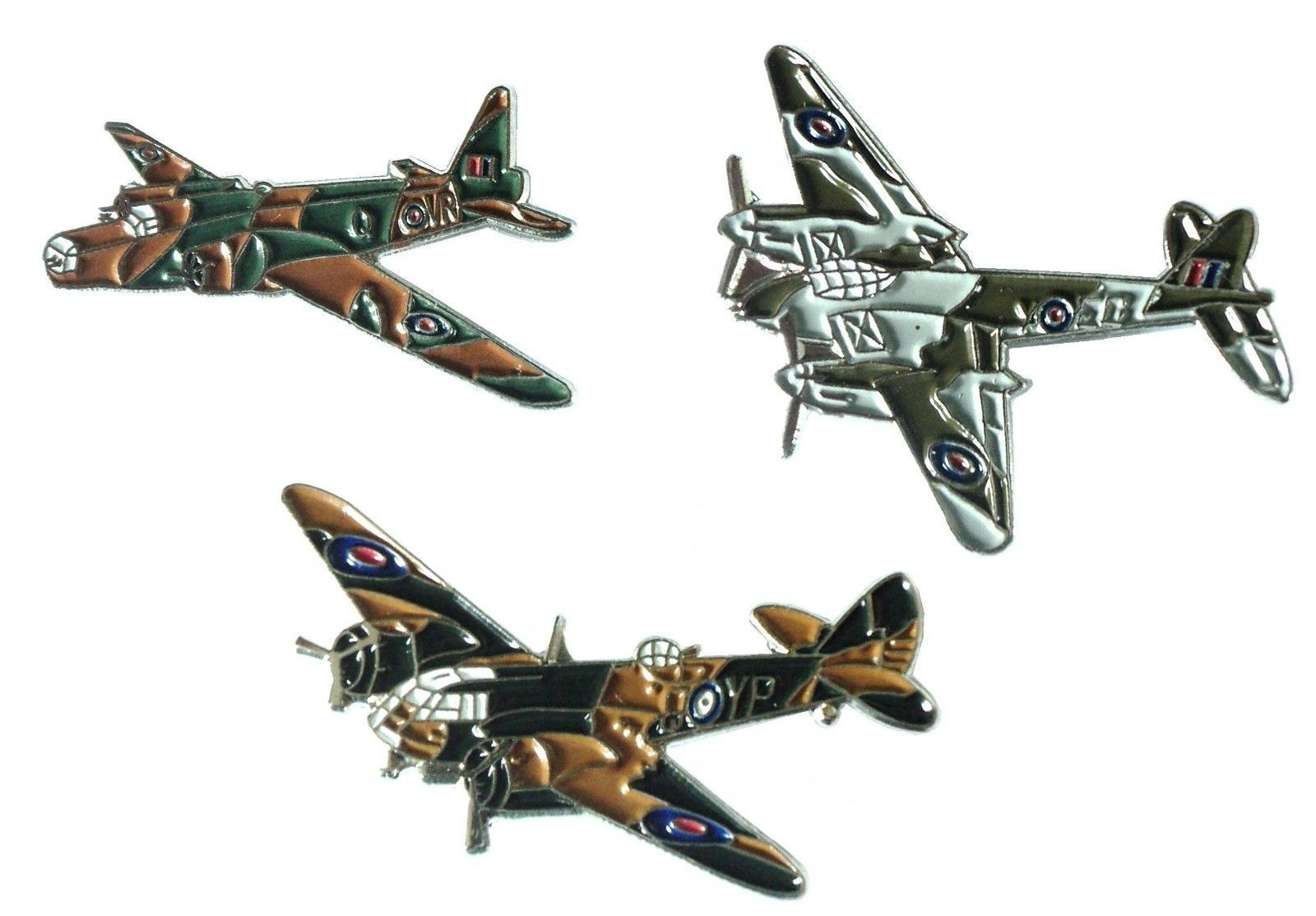 Ww2 raf wellington #blenheim & mosquito military #aircraft metal #enamel badge se,  View more on the LINK: http://www.zeppy.io/product/gb/2/262733066711/