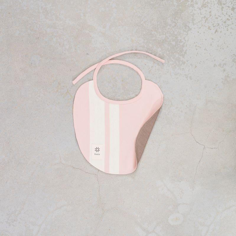 fouta Upcycling Baby Latz · baby bib via acasa.berlin. Click on the image to see more!