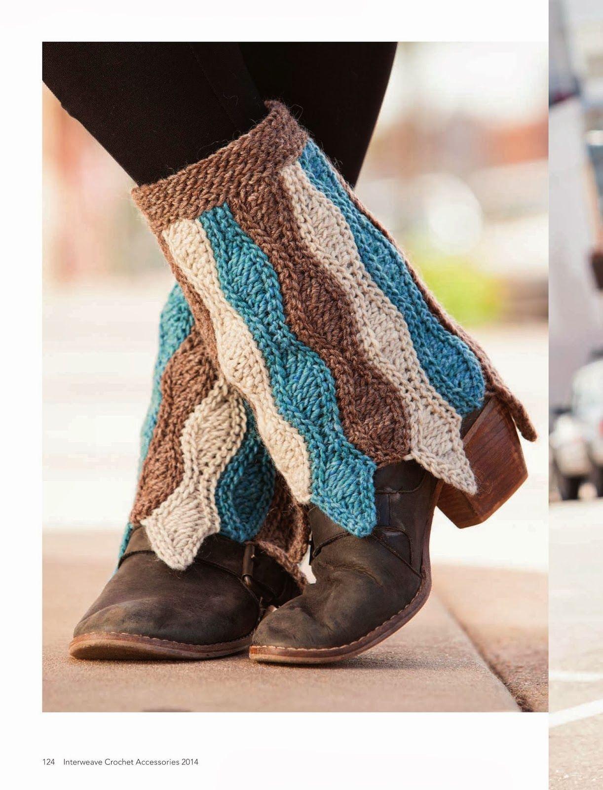 Cubre Botas de Crochet Instrucciones - Patrones Crochet | Crochet ...