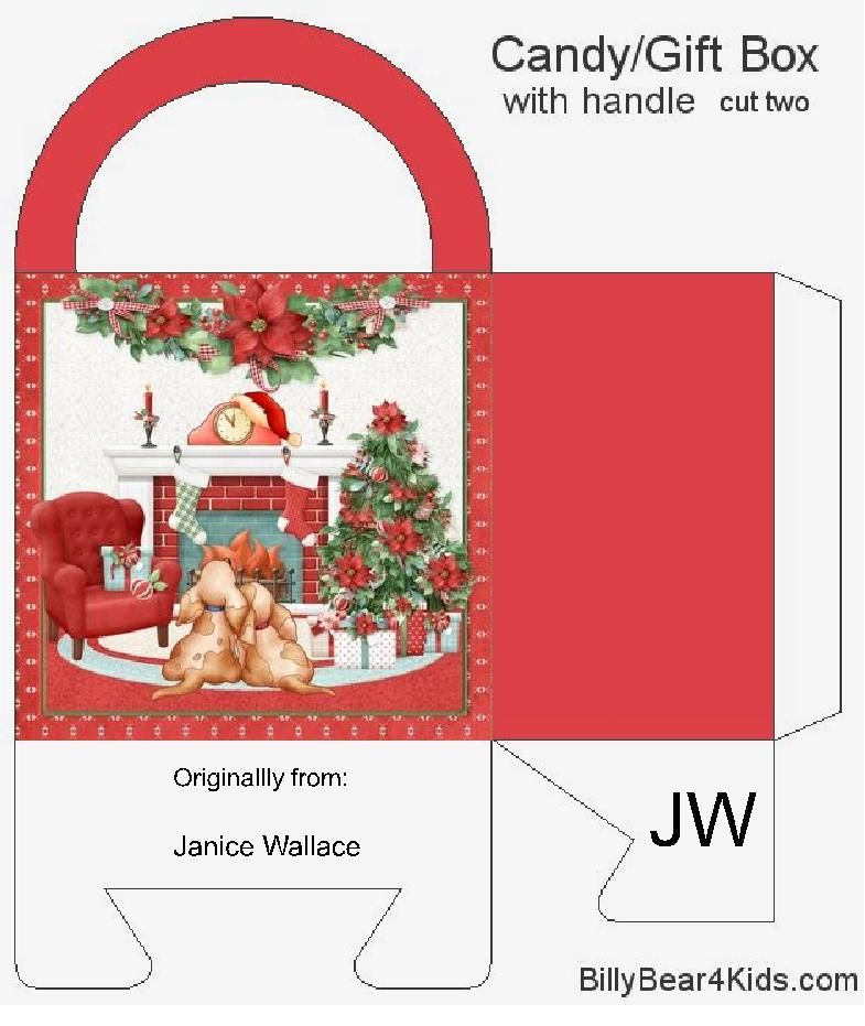 Pin By Janice Wallace On 1 Christmas Bags Boxes Envelopes Easy Christmas Crafts Candy Gift Box Christmas Bags