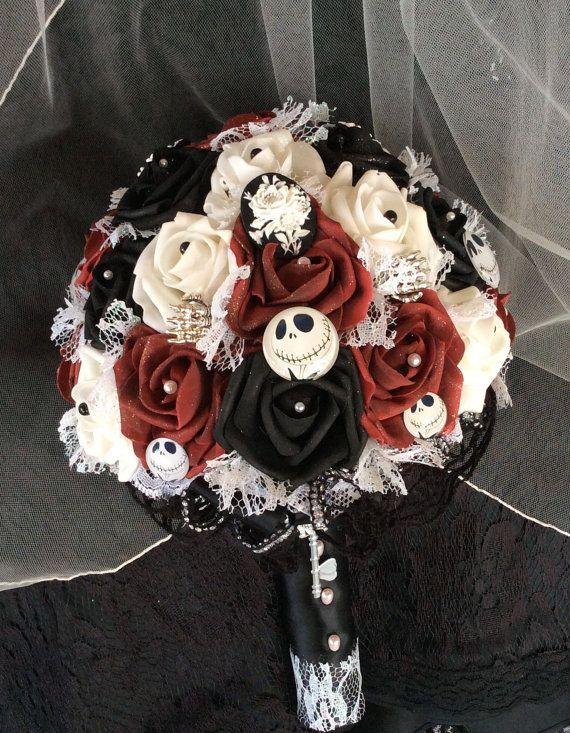 Amazing Awesome Nightmare Before Christmas Wedding Ideas Contemporary