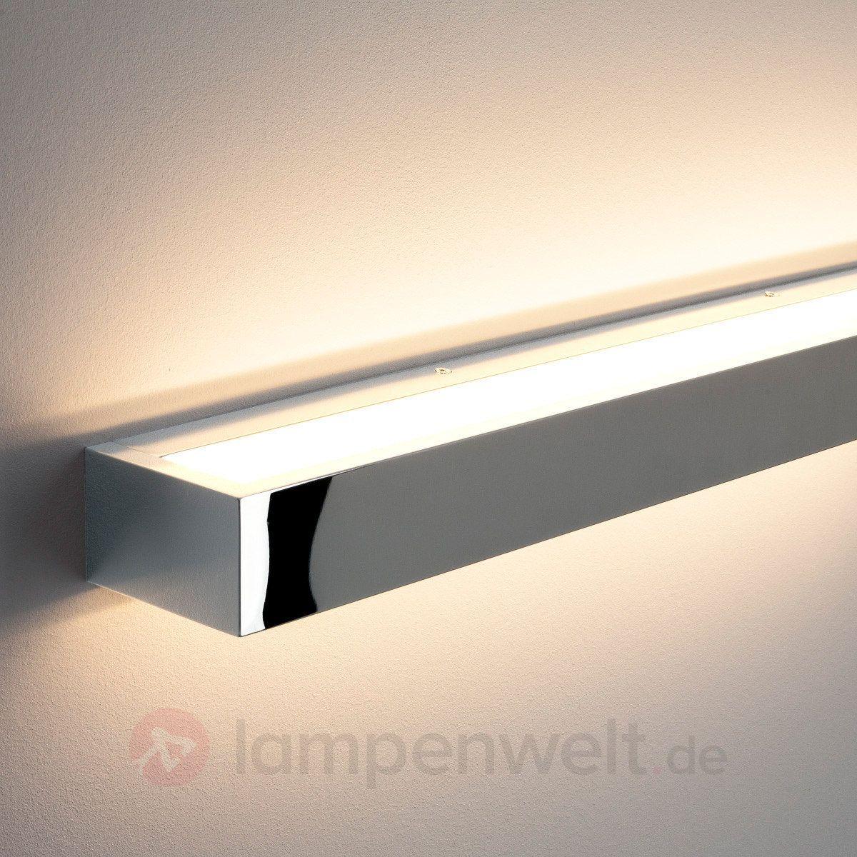 Lange LED-Wandleuchte Cilian, chrom 9633008