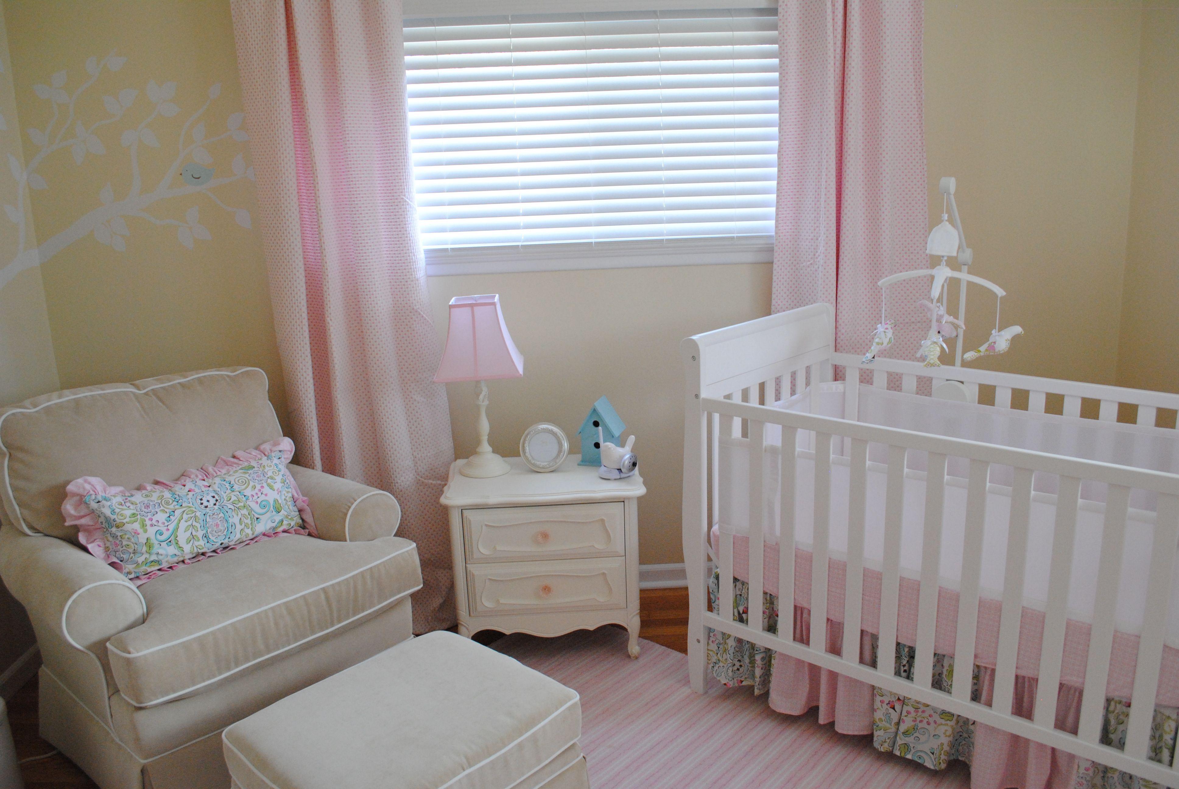 Ava S Nursery Baby Girl Nursery Pink Yellow Nursery Baby