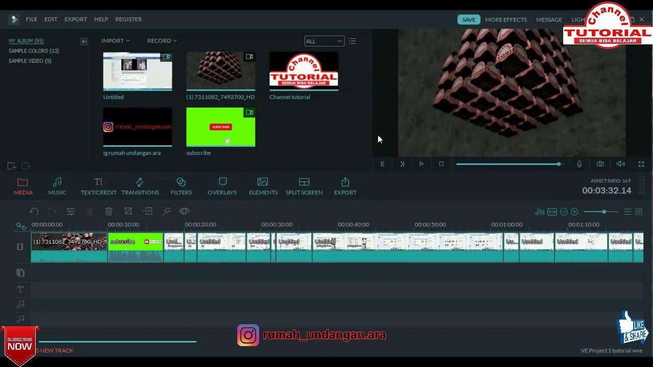 Belajar Edit Video Dengan Filmora Untuk Pemula Sampai Mahir Aplikasi