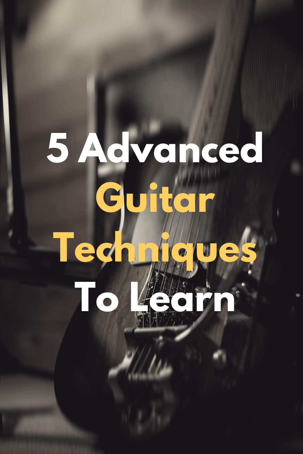Advance Guitar Techniques To Learn In 2020 Elementary Music Lessons Playing Guitar Vocal Lessons