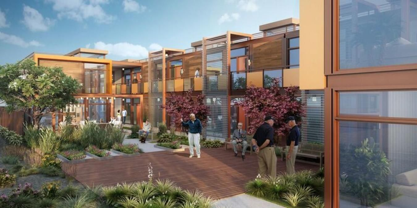 American Family Housing Is Working On A Revolutionary Solution To Relieve Veteran Homelessness In Orange Affordable Prefab Homes Homeless Housing Prefab Homes
