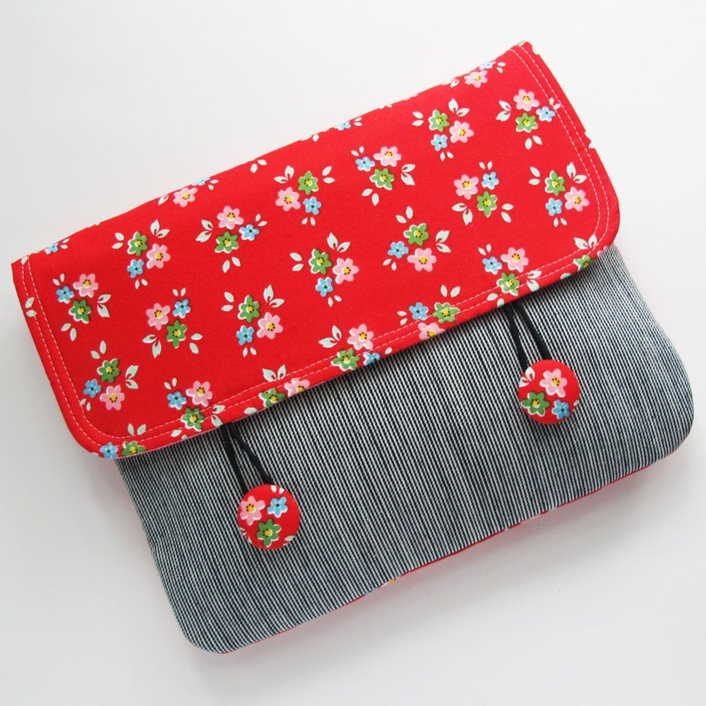 Envelope Clutch PDF Sewing Pattern | Nähen