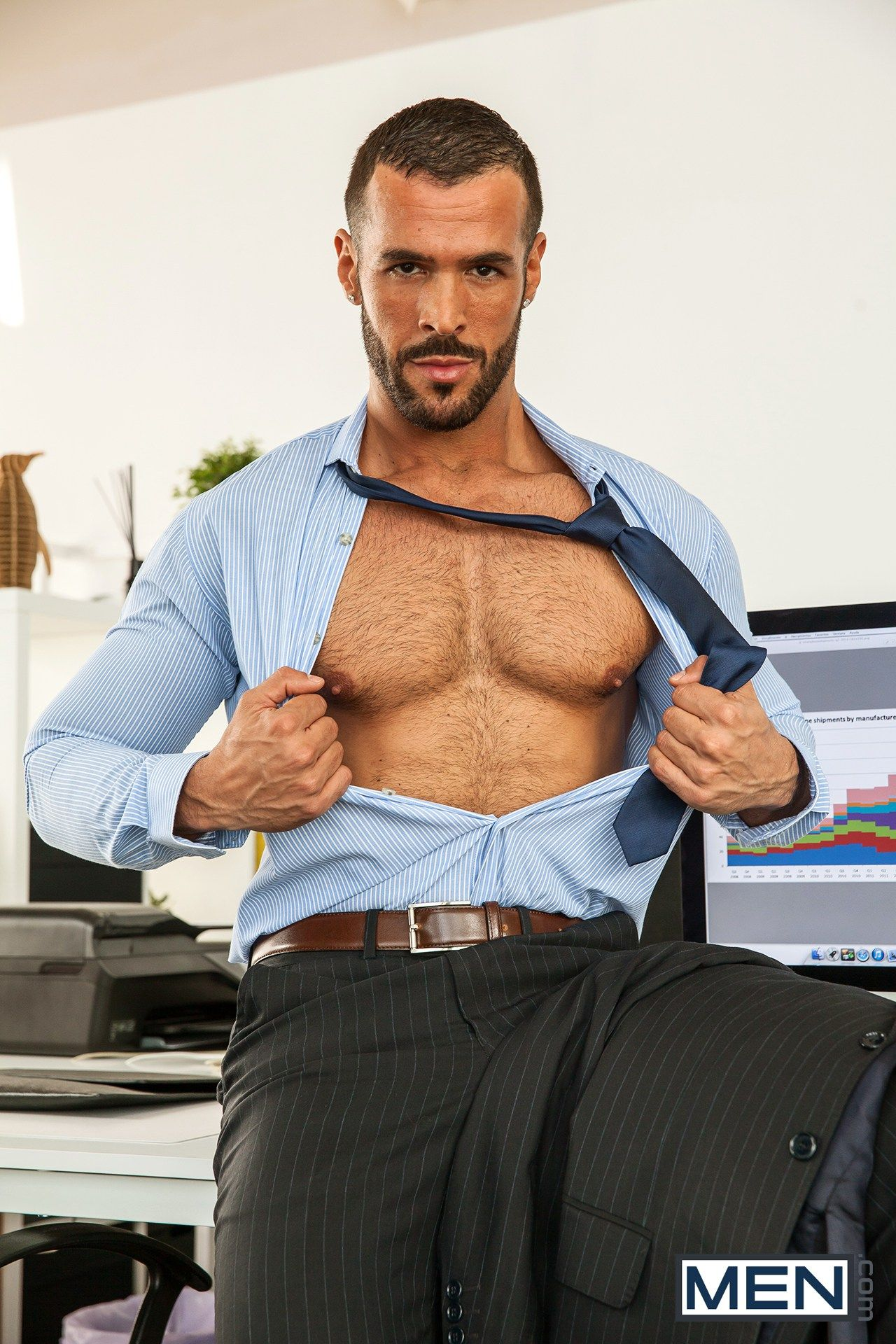 The gay office men
