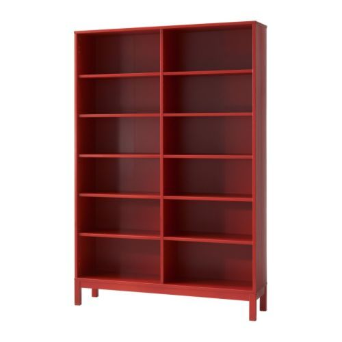 Us Furniture And Home Furnishings Move It Red Bookcase