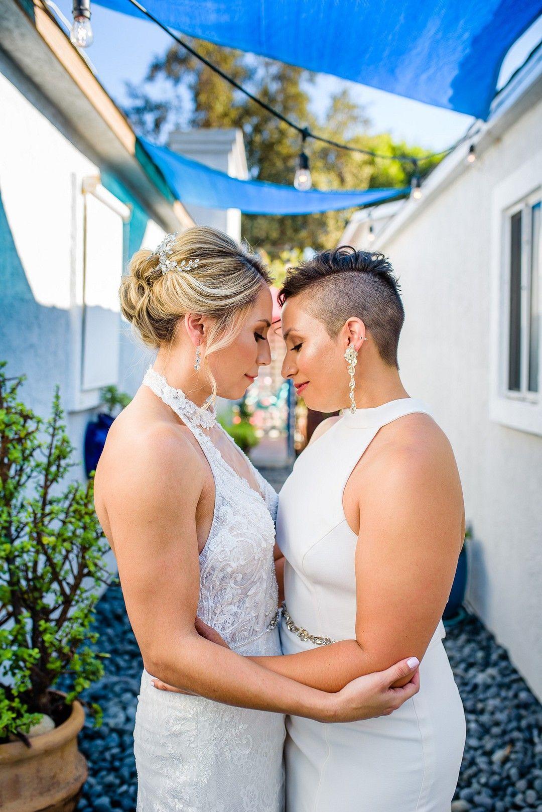 Intimate Sunset Beach Wedding Ceremony In La Jolla