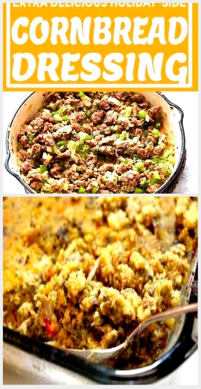Cornbread Dressing - Recipes - Cornbread Dressing #cornbreaddressing Cornbread D ...