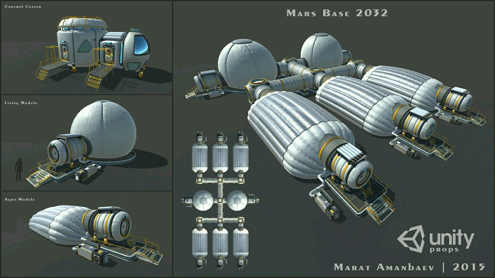 Mars base 2032 | Space, Stations & Colonies | Mars colony ...