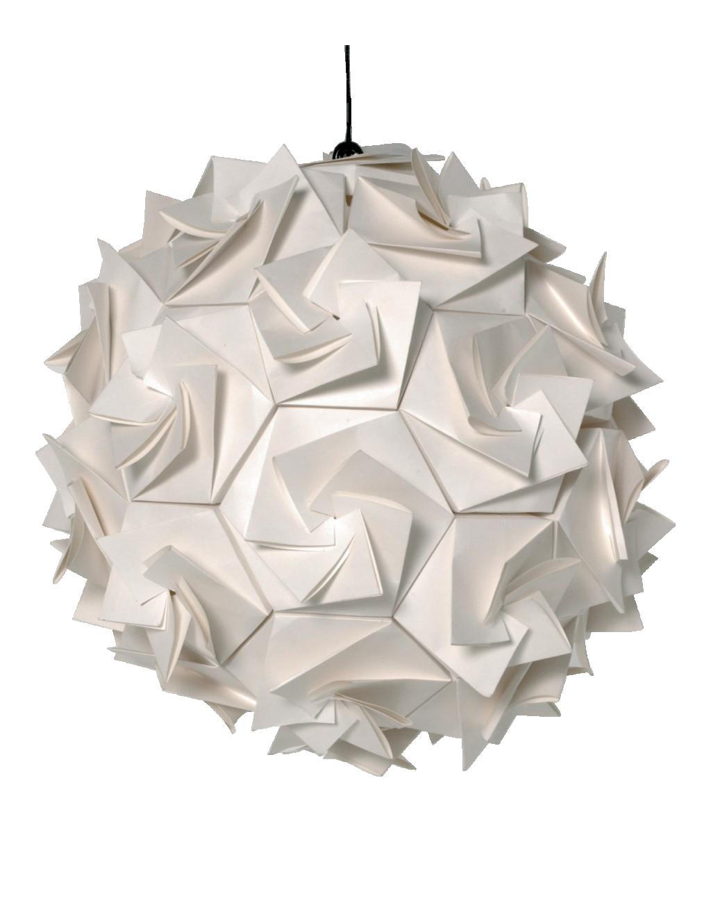 APERTURE Suspensions Blanc Bois Papier