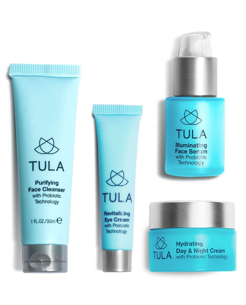 Discovery Kit Tula Skincare Probiotic Skin Care Purifying Face Cleanser