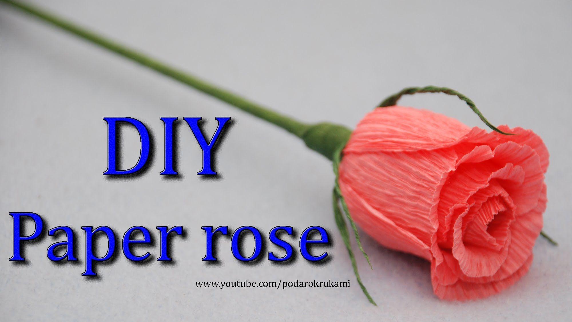 Роза. Букеты из конфет. DIY crepe paper rose. #crepepaperroses Роза. Букеты из конфет. DIY crepe paper rose. #crepepaperroses