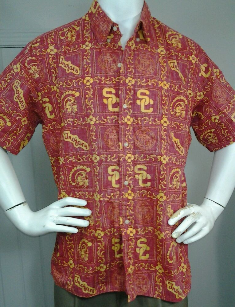f820d57a Trojans Reyn Spooner Shirt USC University of Southern California Hawaiian  SC XL in Clothing, Shoes & Accessories, Men's Clothing, Casual Shirts | eBay