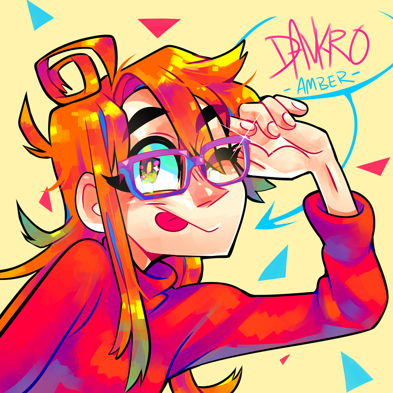 This Artist S Name Is Amber Or Davkro Or Krooked Glasses I Found This Artist Through A Youtube Channel Called Game Grumps Artist Art Block Character Design