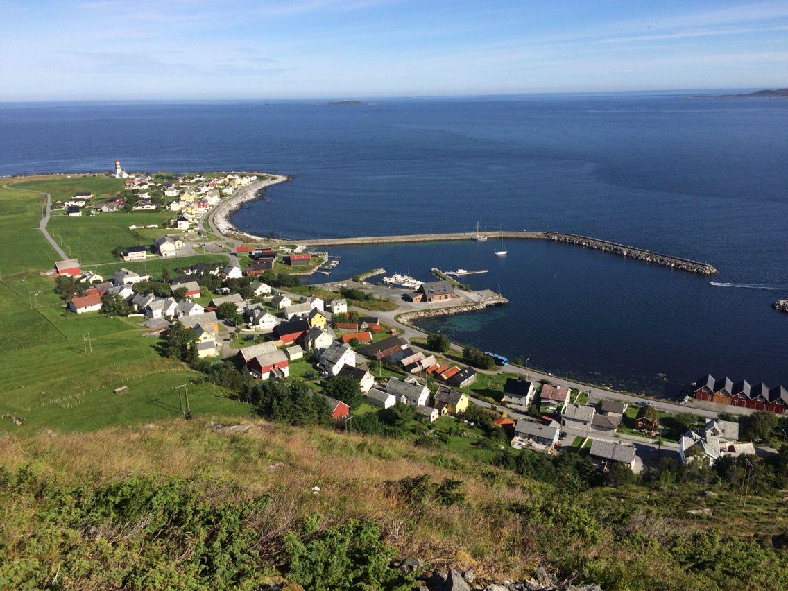 Île de Godøya, Norvège Norvège, Voyage