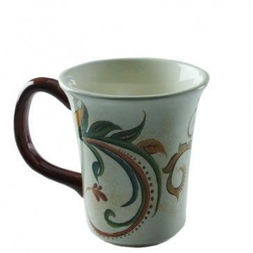 Caneca Marrakech cerâmica creme 11cm