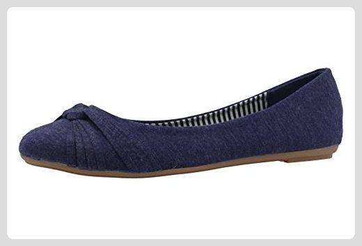 FITTERS FOOTWEAR Amy Damen Ballerinas Blau Schuhe in